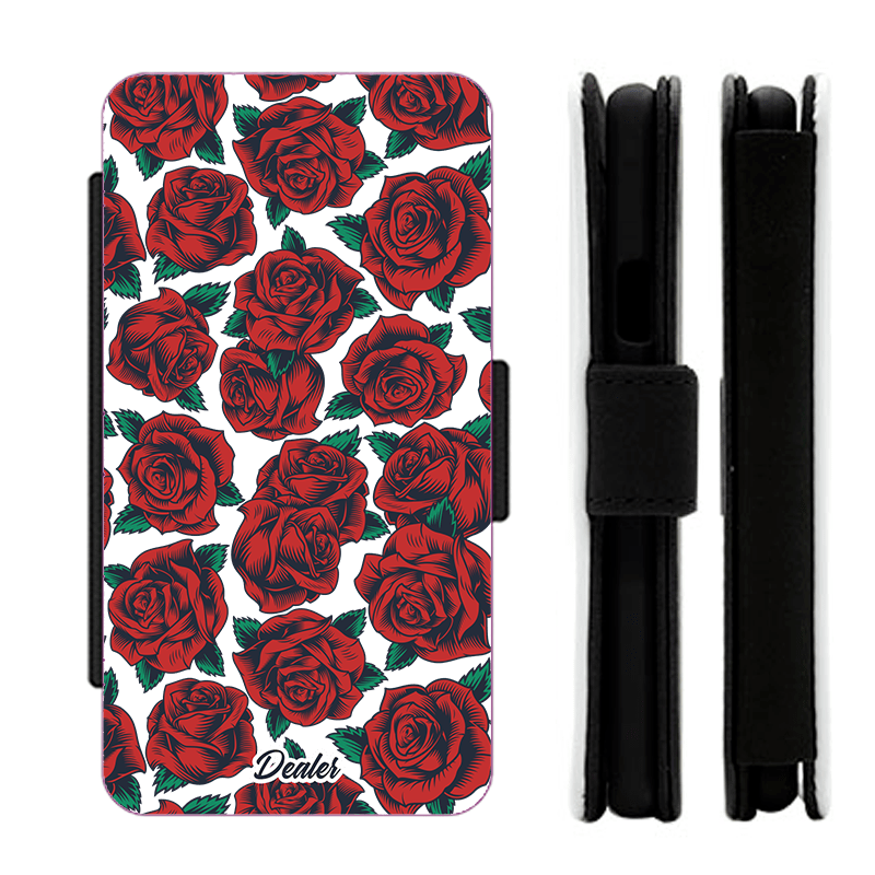 Etui Roses rouges