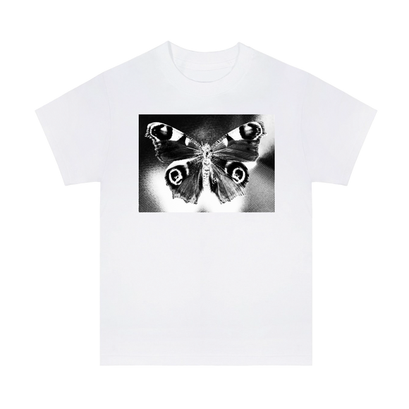 Butterfly Tee - White + 'BUBBA' Digital Download