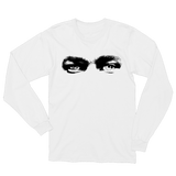 Eyes Long Sleeve Tee - White + 'BUBBA' Digital Download
