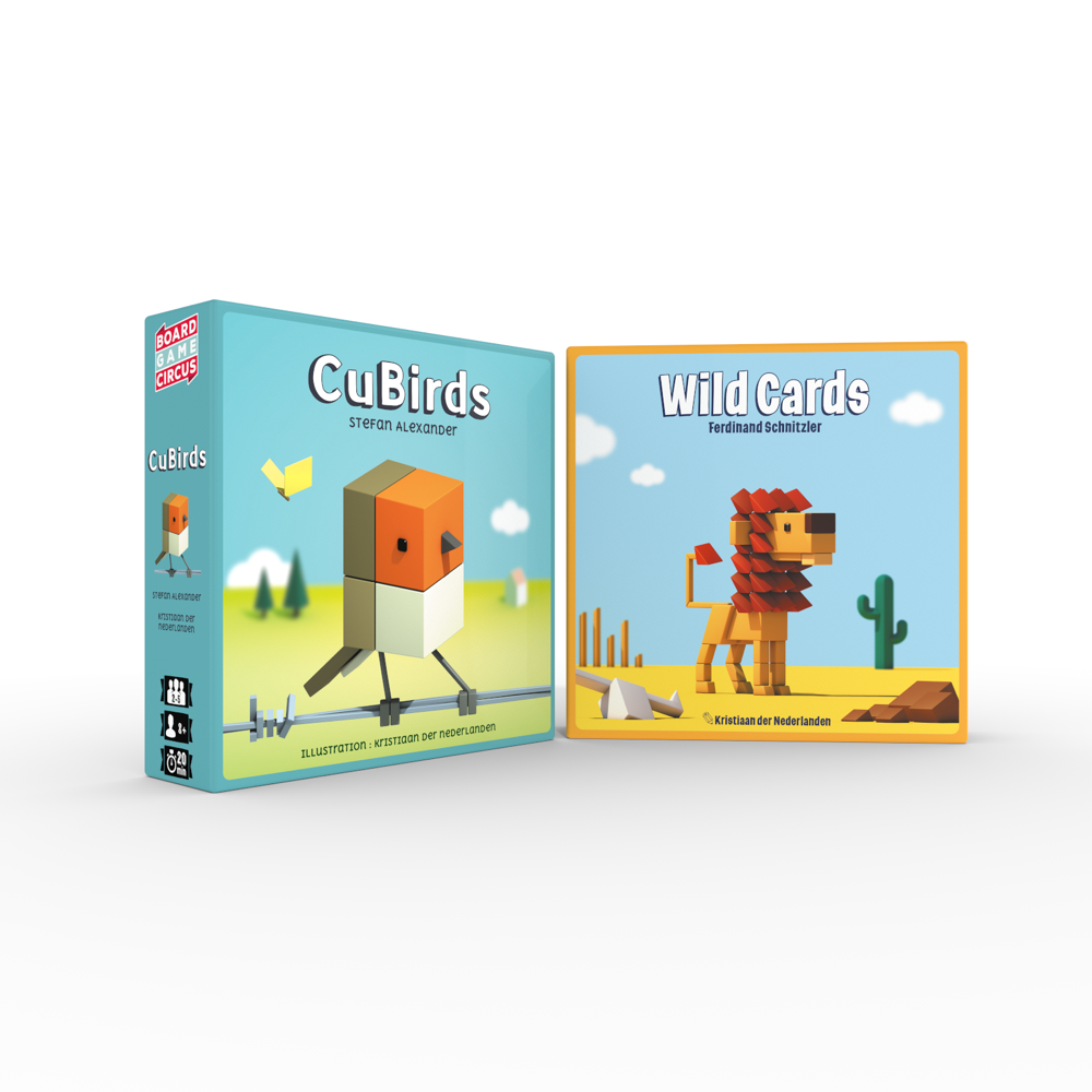 Paketangebot: CuBirds + WildCards