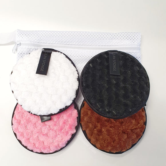 Reusable Makeup Remover Pads - 4pack
