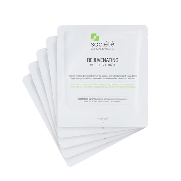 Societé Rejuvenating Peptide sheet mask (each) - 12g