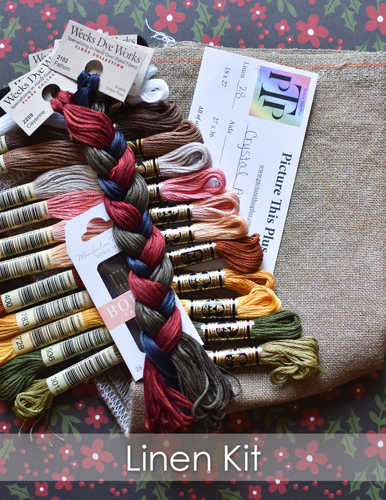 12 Days of Christmas + Linen Kit
