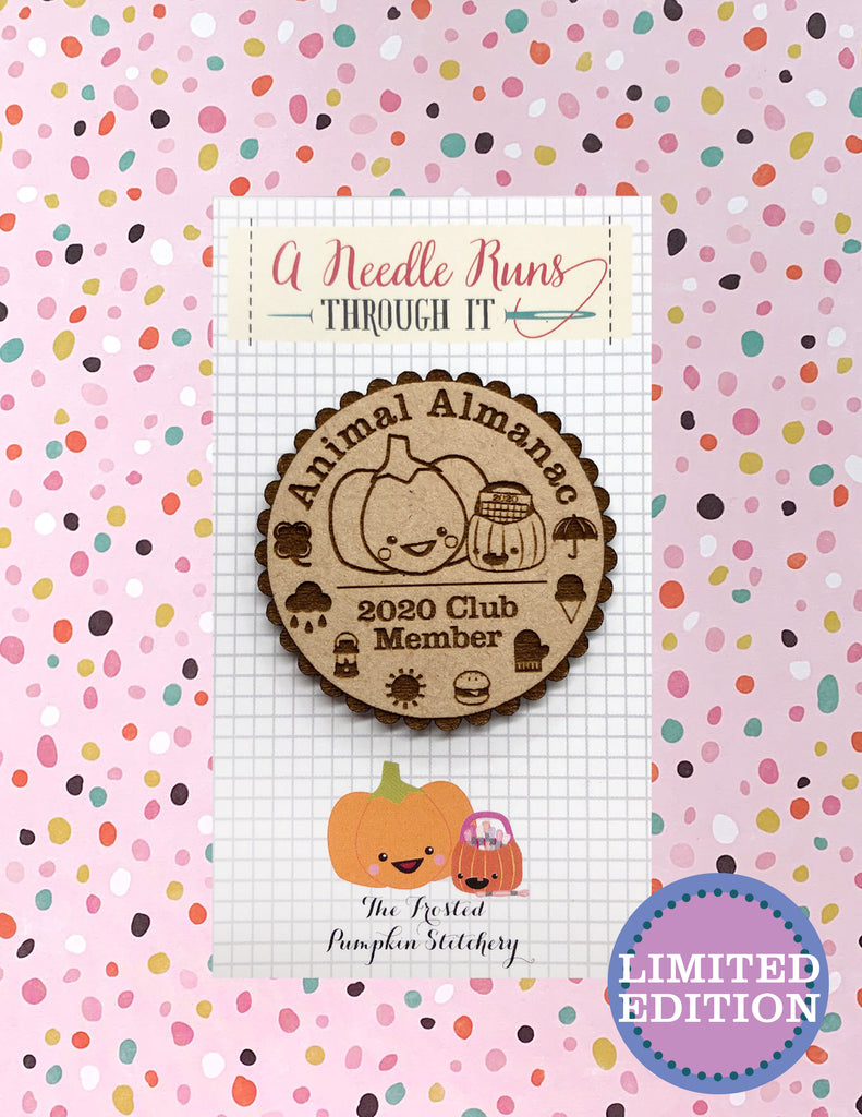 ON ORDER SIGN UP TO BE NOTIFIED Animal Almanac Needleminder