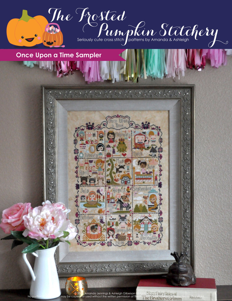 Once Upon a Time Sampler + Linen Kit