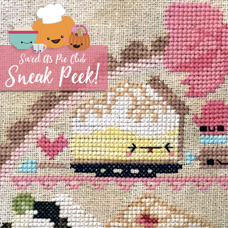 Sweet As Pie Club + Aida Kit