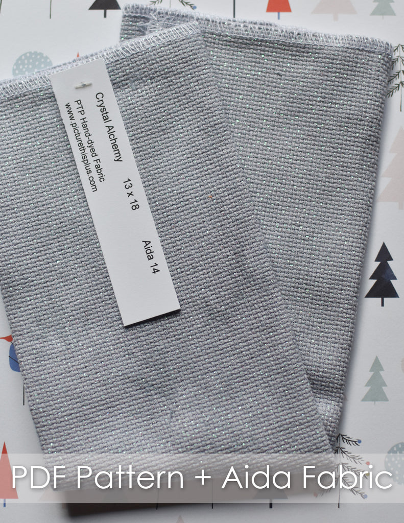 Winter Wonderland + Aida Fabric