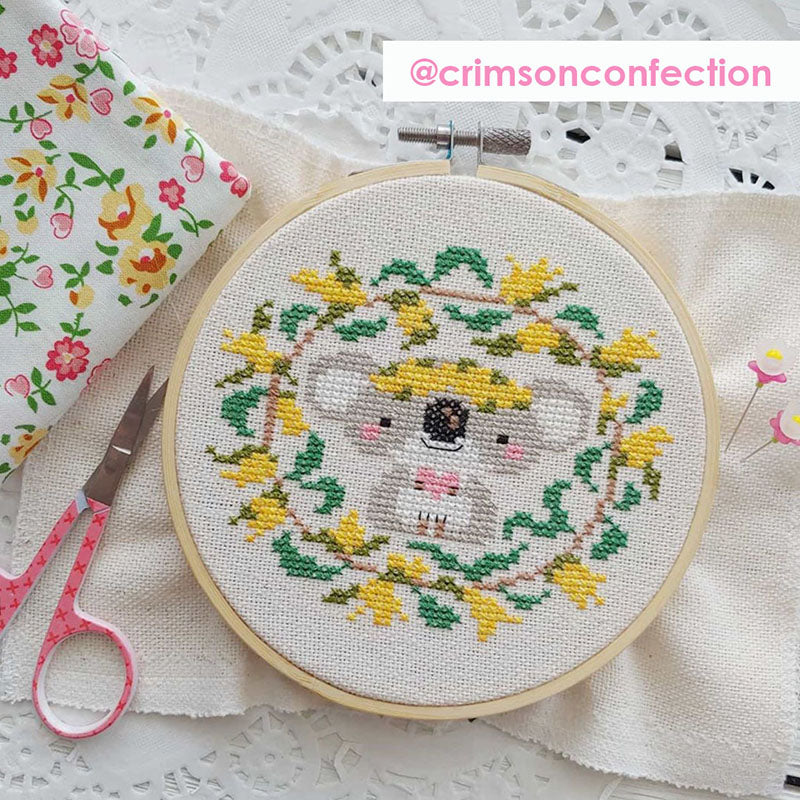 With Love stitched by @crimsonconfection