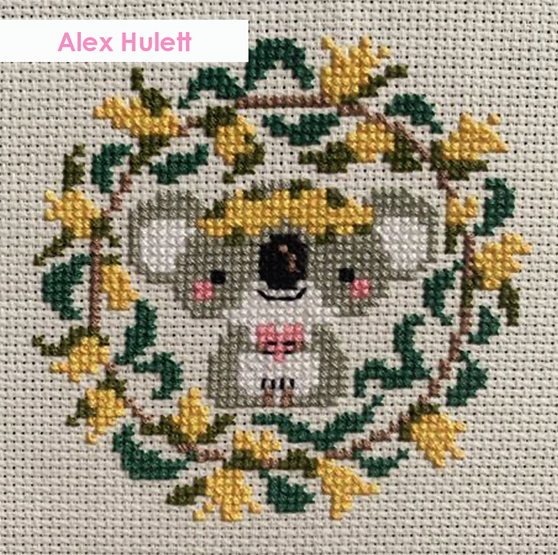 With Love stitched by Alex Hulett