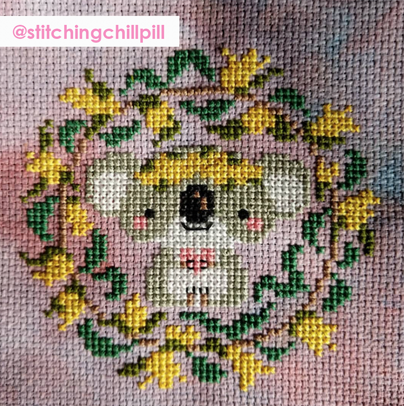 With Love stitched by @stitchingchillpill