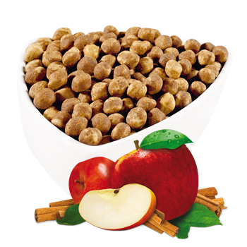 Apple and Cinnamon Soy Puffs (Restricted)