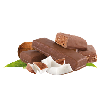 Individual Chocolatey Coconut Bar