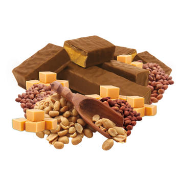 Caramel and Peanut Bar