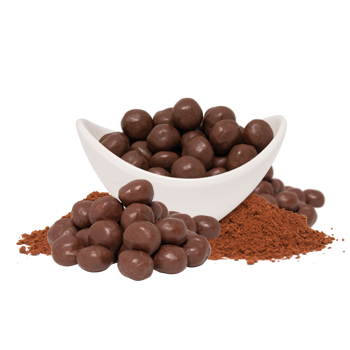Individual Chocolate Soy Puffs Unrestricted