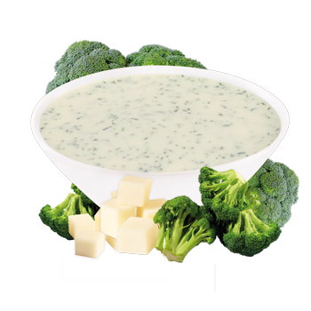 Individual Broccoli and Cheese Soup Mix