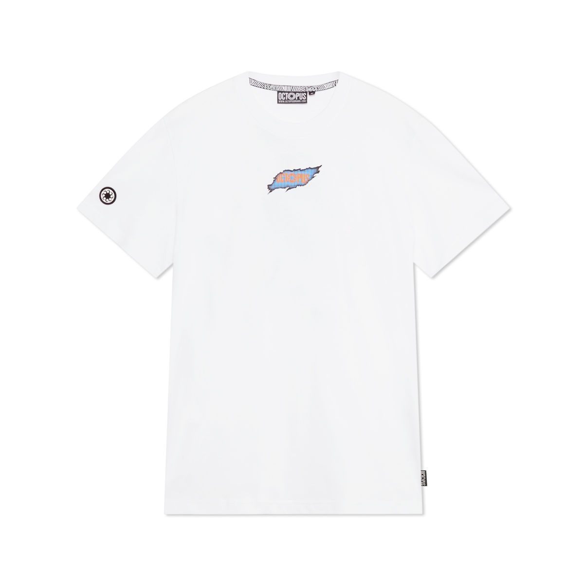 RIPPER LOGO TEE WHITE