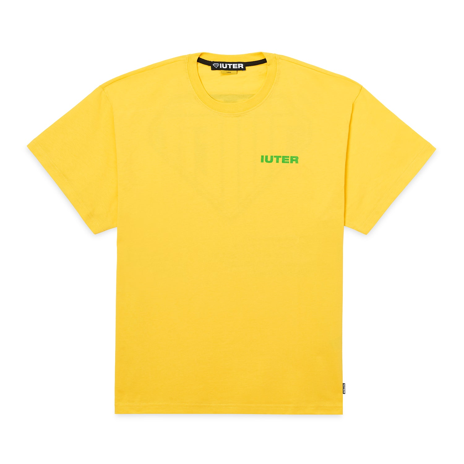 DOUBLE LOGO TEE YELLOW
