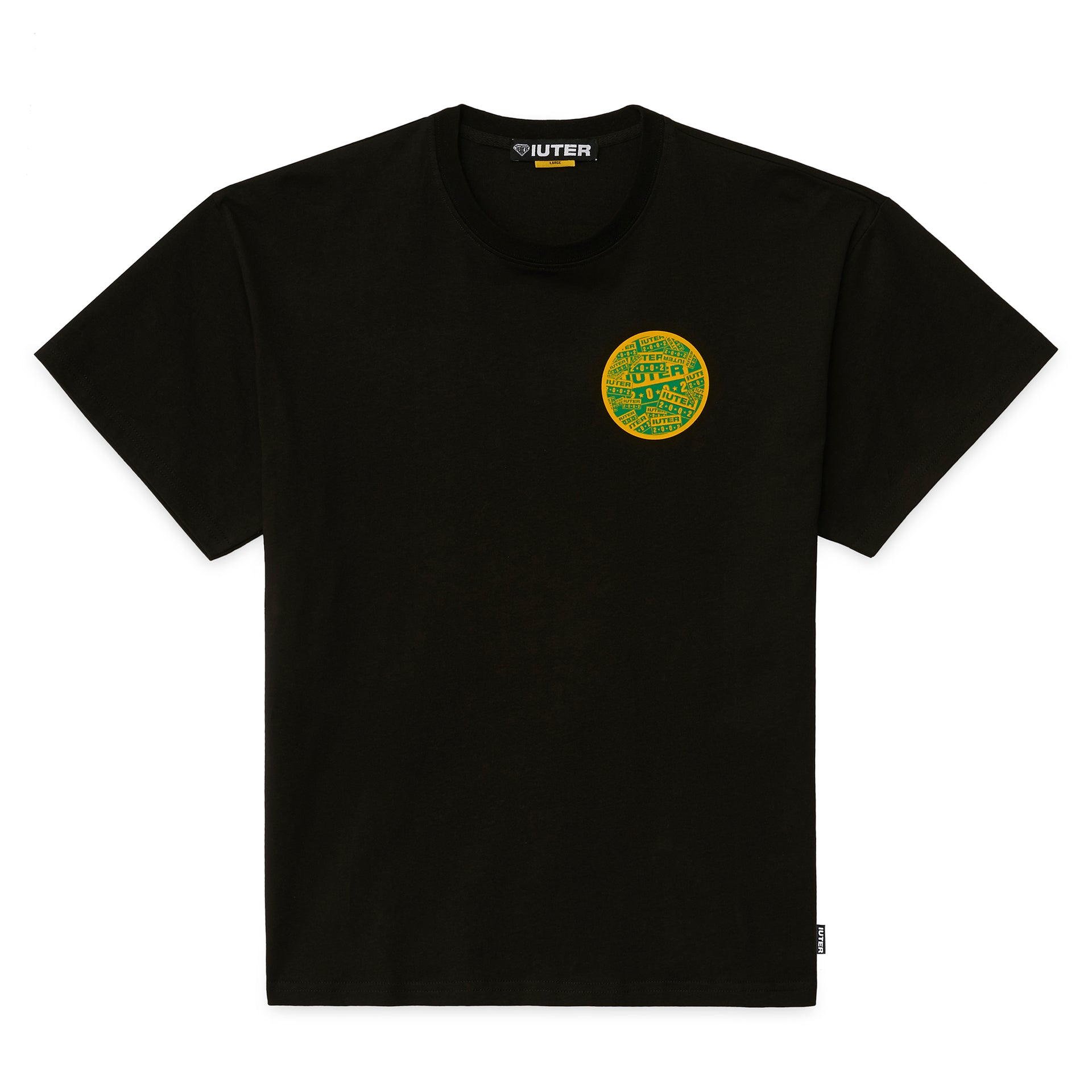 RISE AND SHINE TEE BLACK