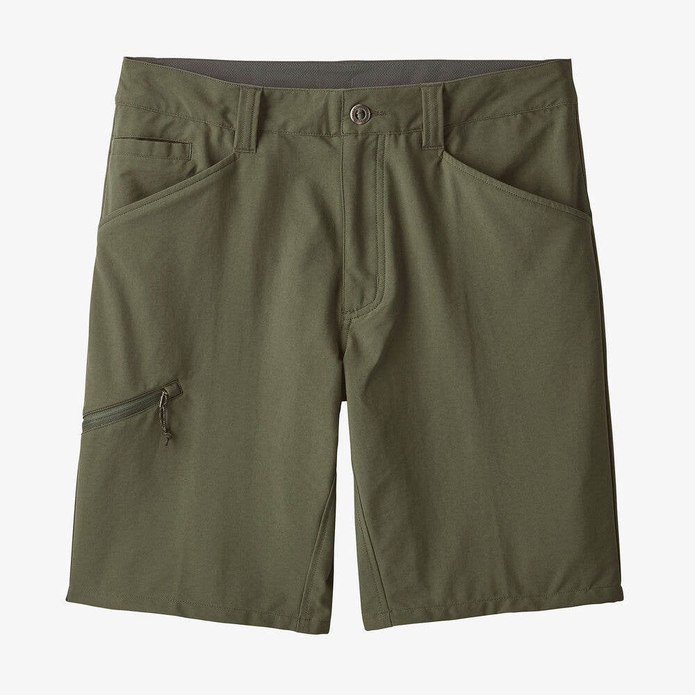 M'S QUANDARY SHORTS - 10 IN. INDUSTRIAL GREEN
