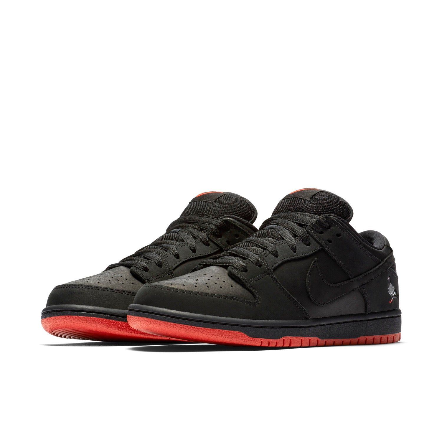 NIKE SB DUNK LOW STAPLES PIGEON BLACK / BLACK / SIENNA