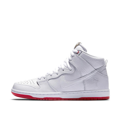 promo code b8f69 29d56 NIKE SB ZOOM DUNK HIGH PRO QS KEVIN BRADLEY WHITE - UNIVERSITY RED