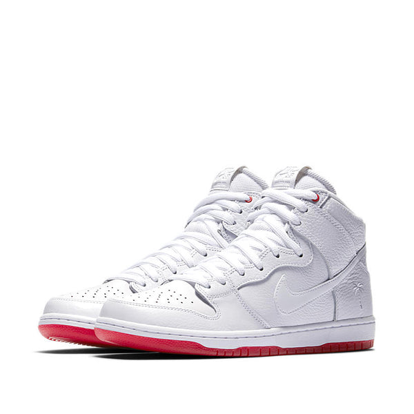 NIKE SB ZOOM DUNK HIGH PRO QS KEVIN BRADLEY WHITE - UNIVERSITY RED