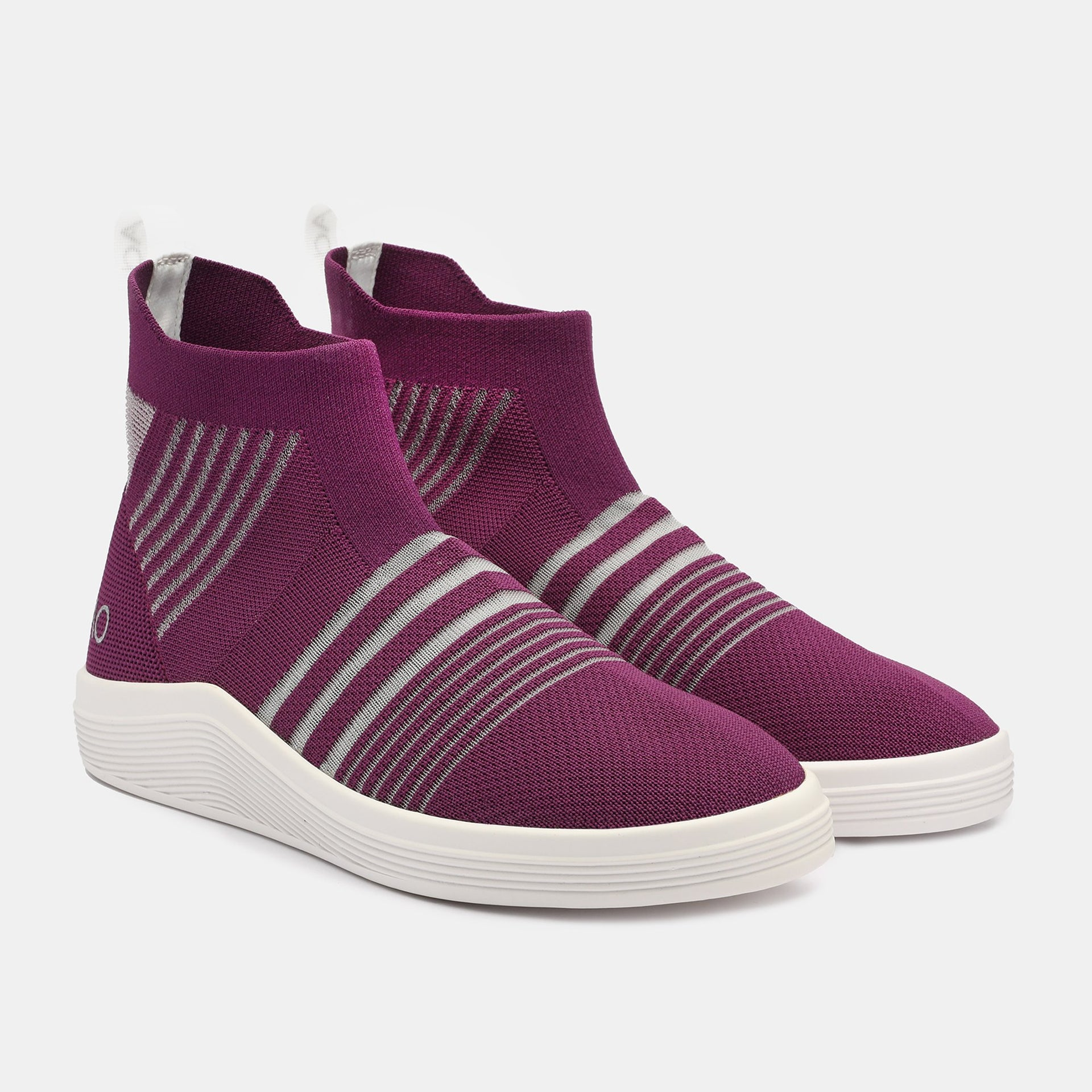 STRIPES 5.10 NET PLUM