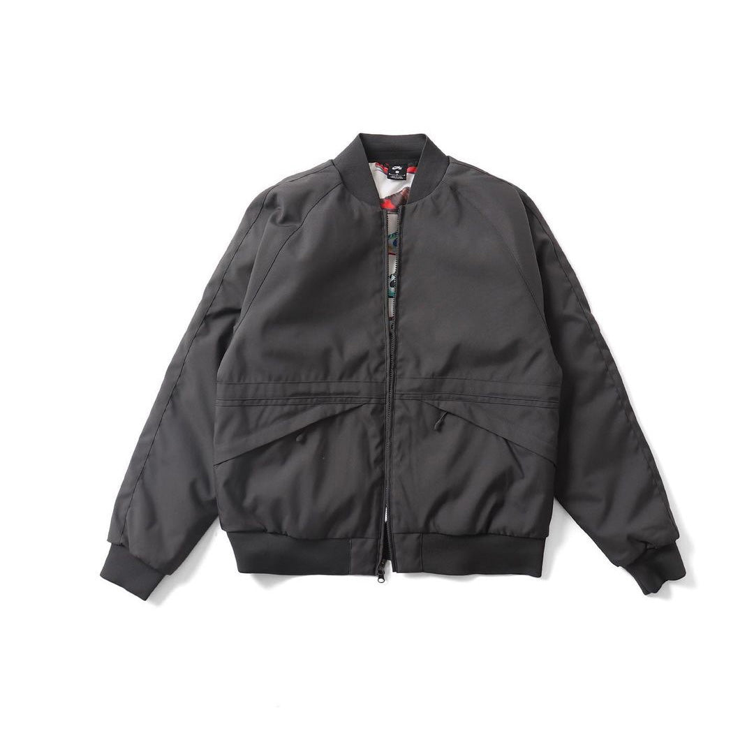 ORANGE LABEL SKATE JACKET DARK SMOKE GREY