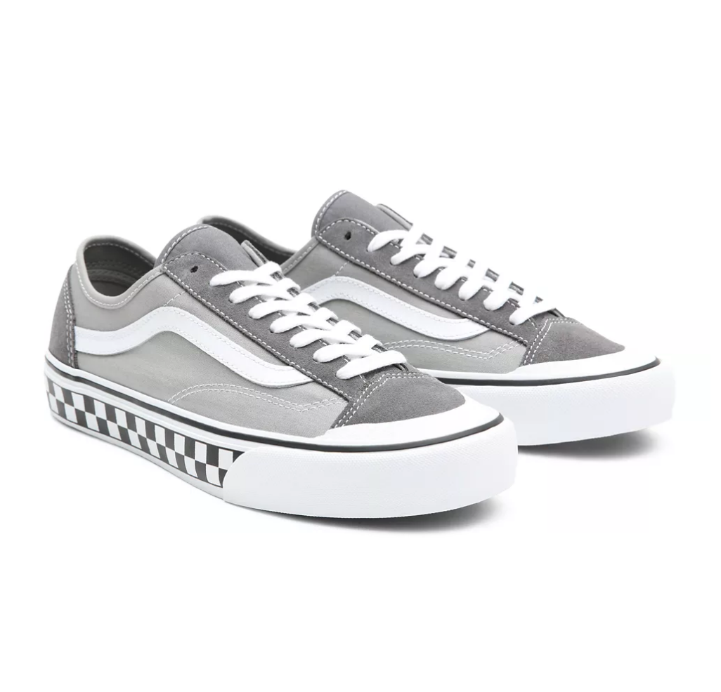 STYLE 36 DECON SF PEWTER / TRUE WHITE