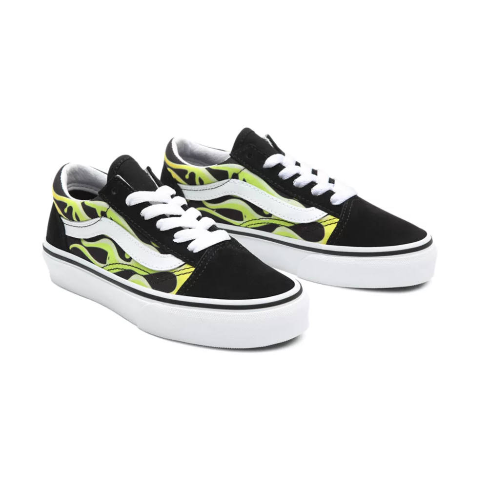 UY KIDS OLD SKOOL SLIME FLAME