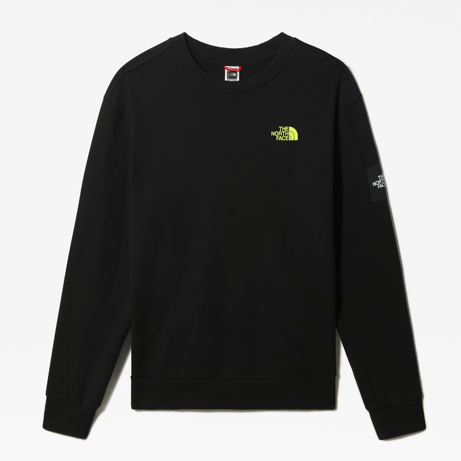 M BLACK BOX CREW FLEECE - EU TNF BLACK