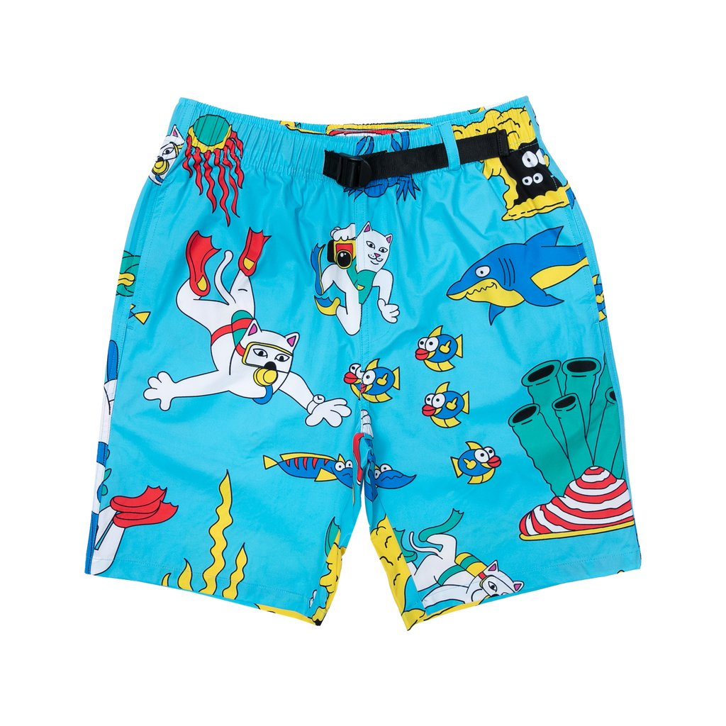 UNDER THE SEA SWIM SHORTS BLUE