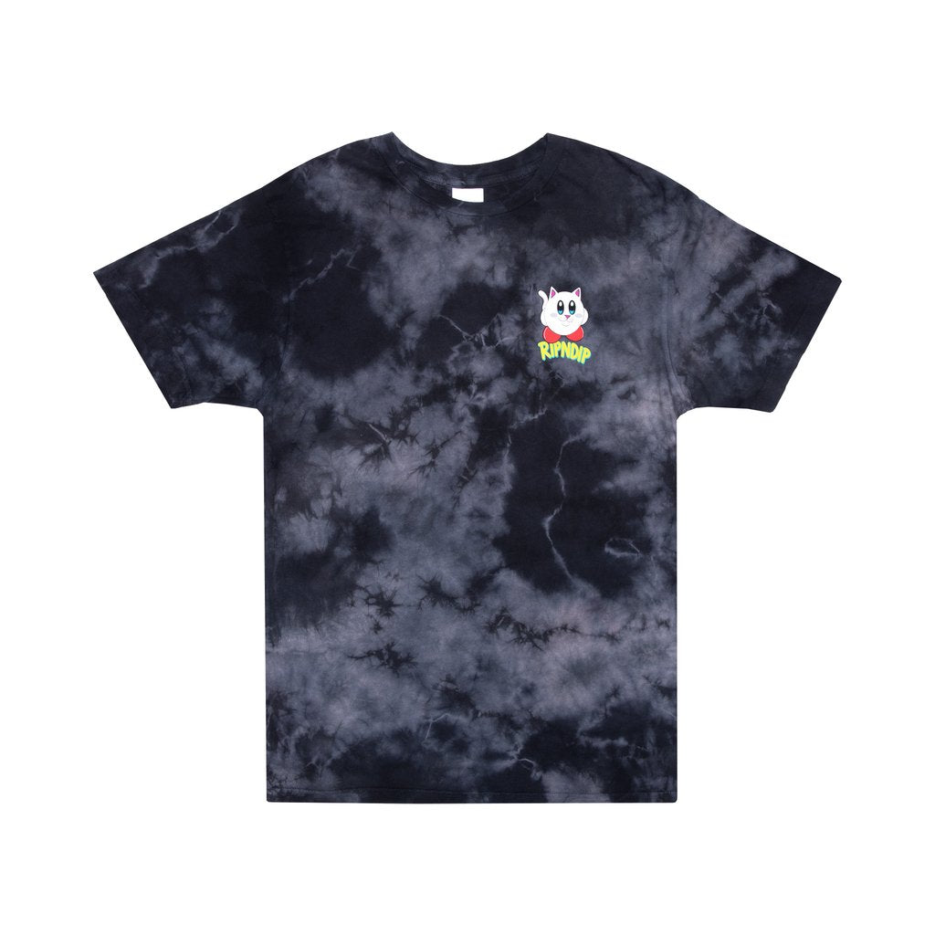 NERMBY TEE BLACK LIGHTNING WASH