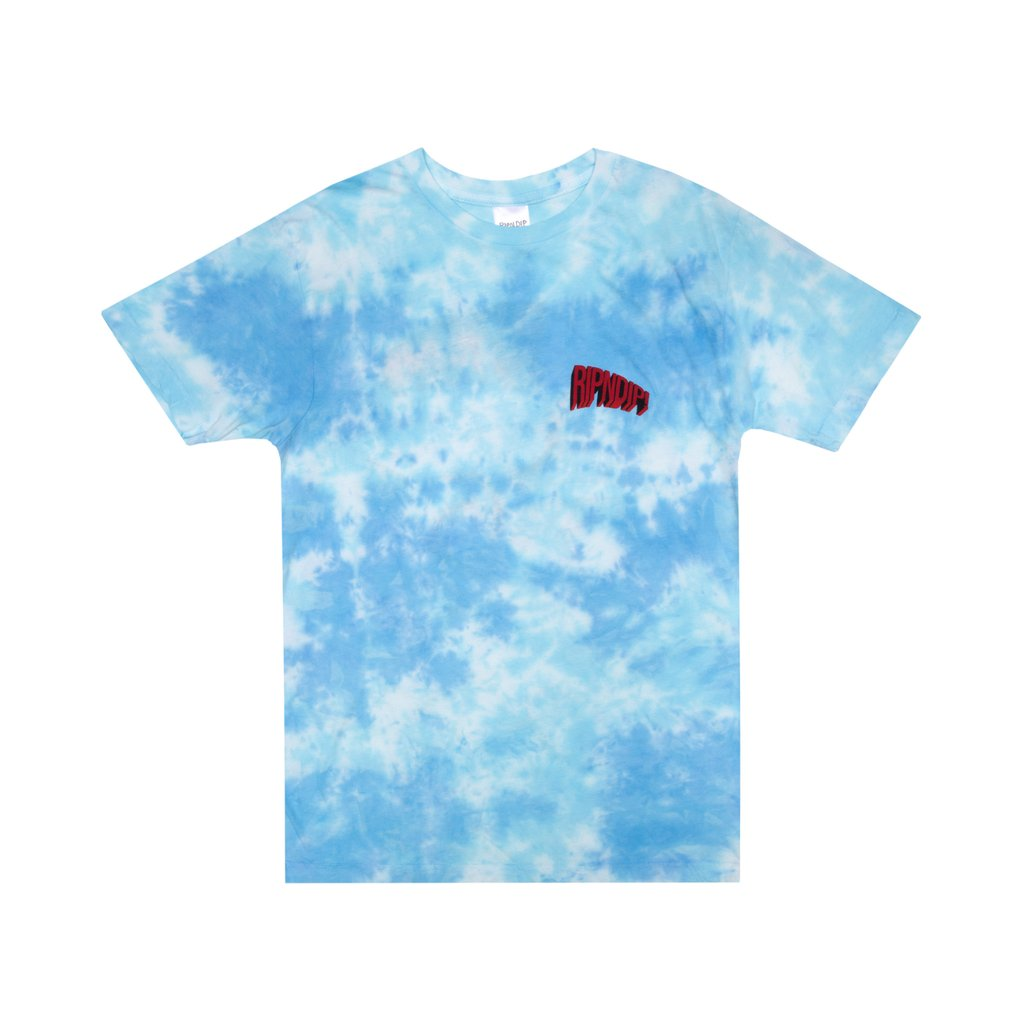 FLYING HIGH TEE BLUE TIE DYE