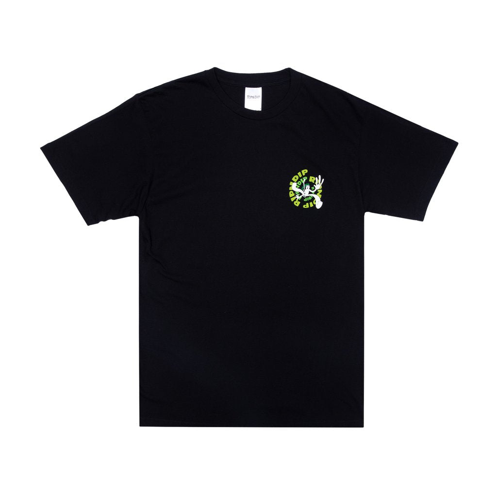 DESCENDING TEE BLACK