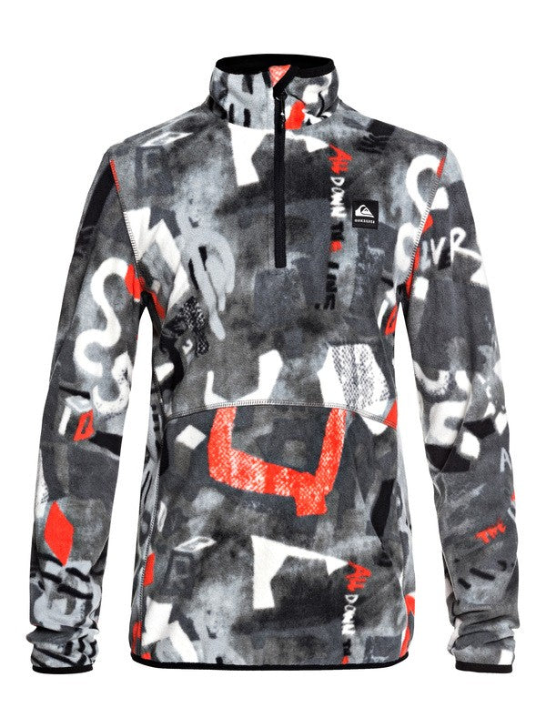QUIKSILVER W20 BOY'S FELPA SNOW AKER YOUTH FLEECE NZG6
