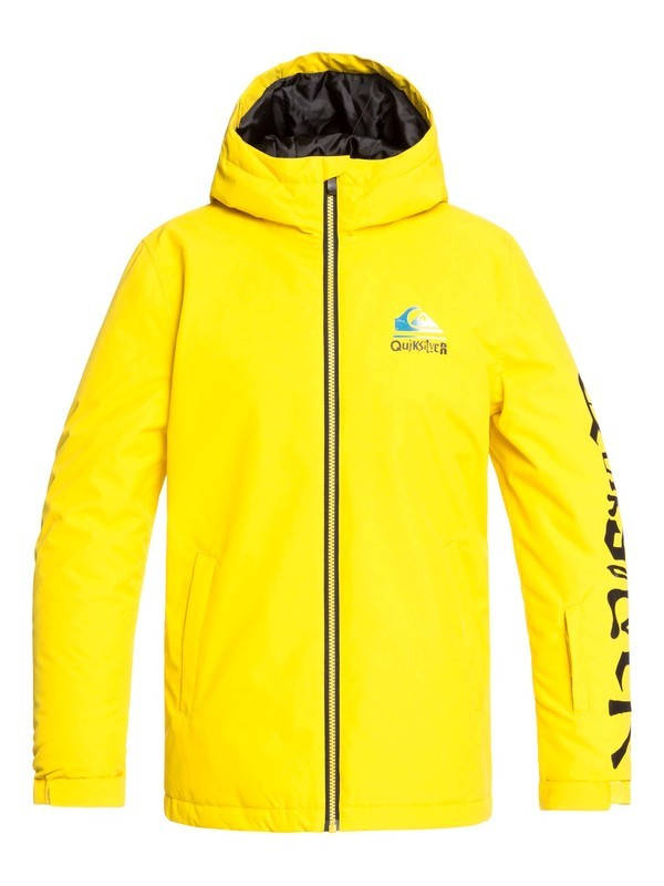 QUIKSILVER W20 BOY'S IN THE HOOD SNOW JACKET GJC0