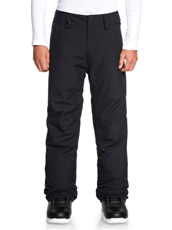 QUIKSILVER W20 BOY'S ESTATE SNOW PANT KVJ0