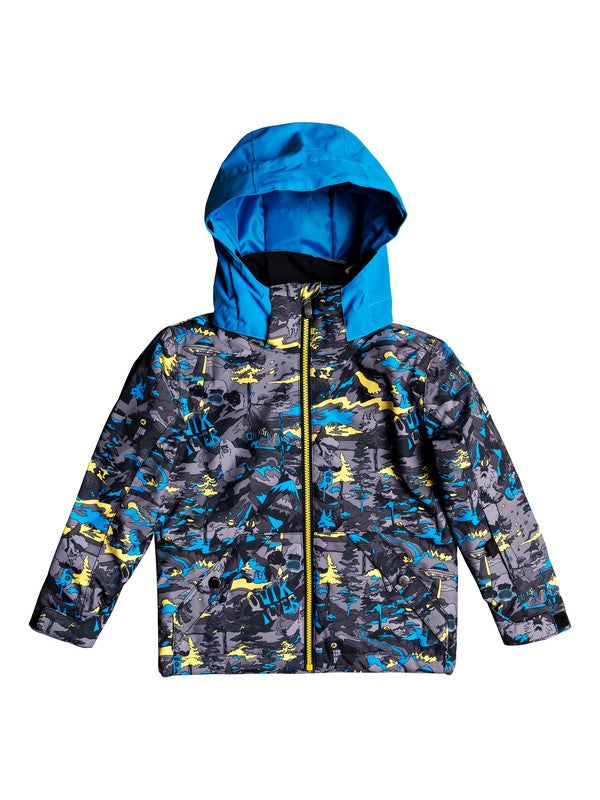 QUIKSILVER W20 YOUNG BOY'S GIACCA SNOW LITTLE MISSION KIDS JK GJC1
