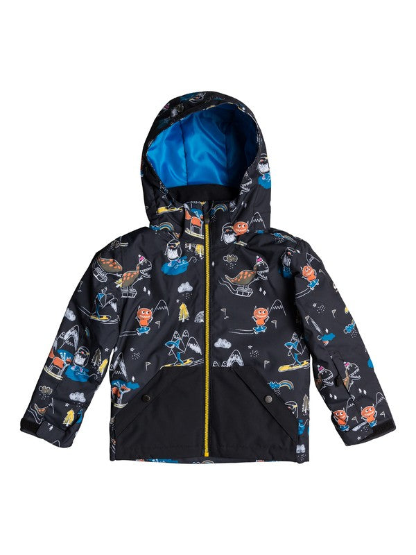 QUIKSILVER W20 YOUNG BOYS GIACCA SNOW LITTLE MISSION KIDS JK KVM6