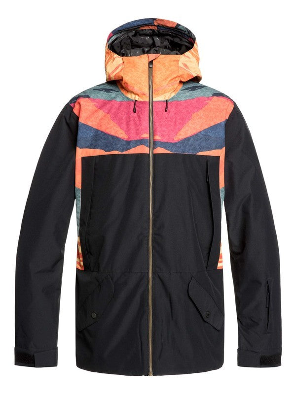 QUIKSILVER W20 TR AMBITION SNOW JACKET NML6