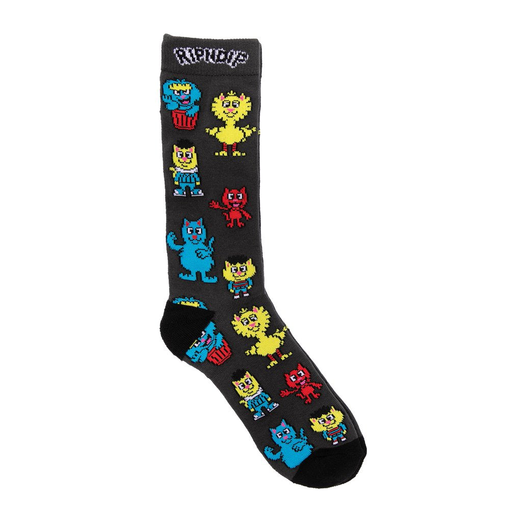 NERM STREET SOCKS BLACK