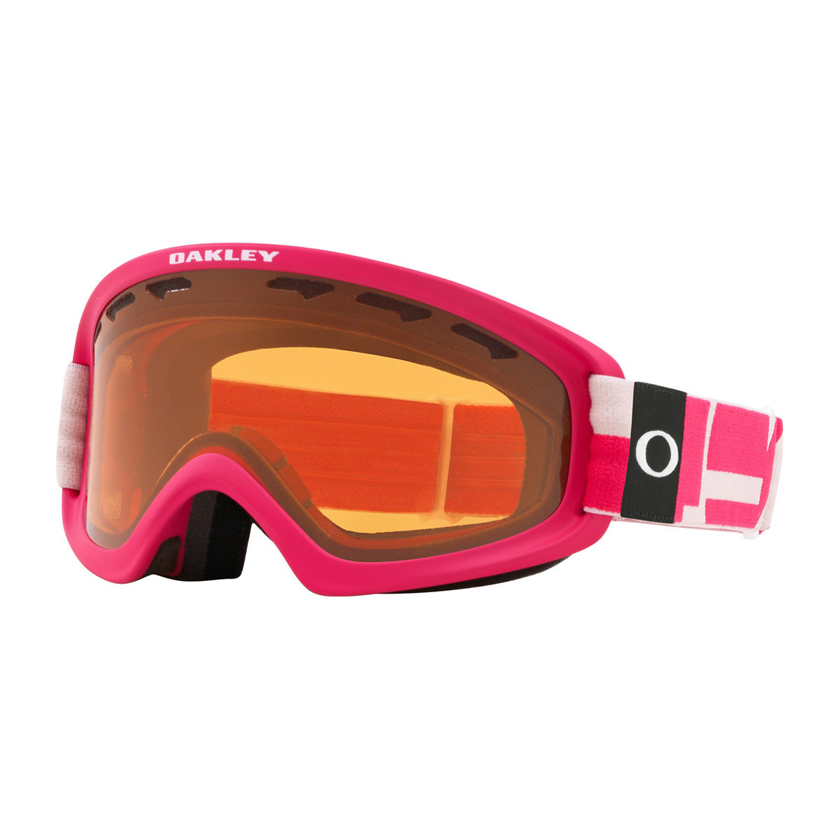 OAKLEY W20 OF 2.0 PRO XS ICNOGRAPHY PINK W/PERS & DK GRY