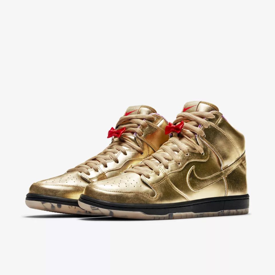 DUNK HIGH HUMIDITY QS METALLIC GOLD