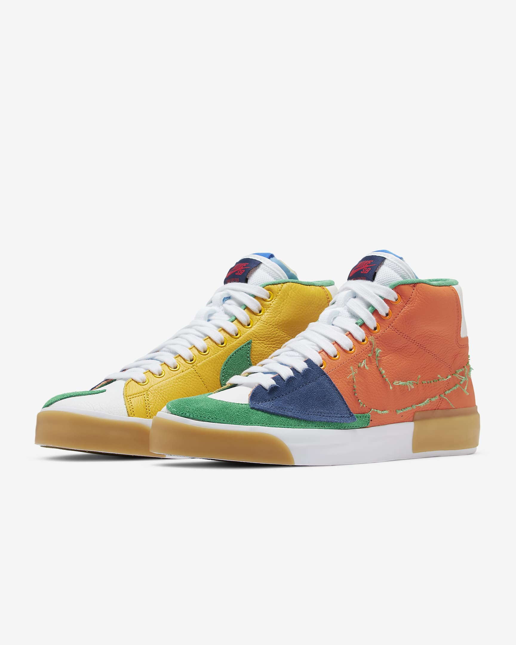 BLAZER MID EDGE SAFETY ORANGE / LUCKY GREEN