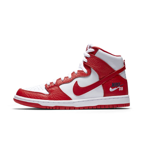 NIKE SB DUNK PRO HIGH University Red / White / Obsidian