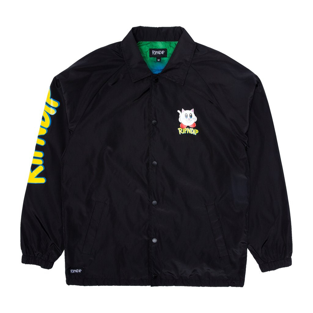 NERMBY COACH JACKET BLACK
