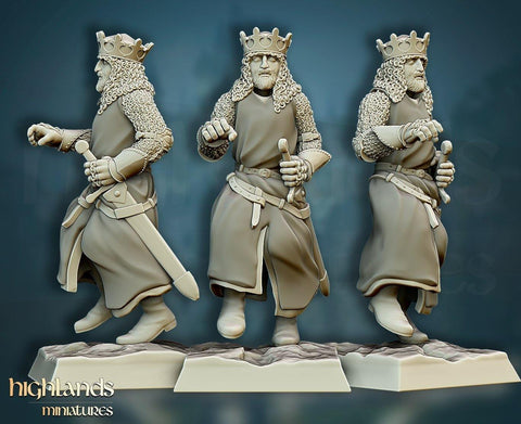 Sir Arthur - King of the Britons by Highlands Miniatures - Mecha.Net Studios