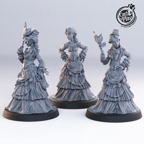 Noble Women by Cast n Play, Townsfolk Collection