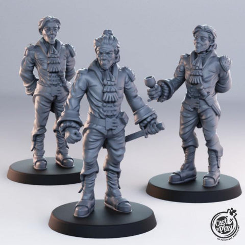 Noble Men by Cast n Play, Townsfolk Collection
